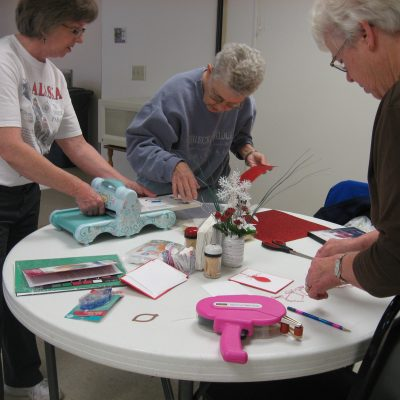 Crafting, Marilyn, Dee, Carol